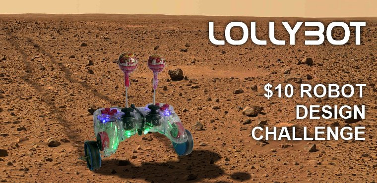 Lollybot on Mars